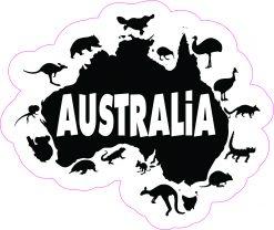Australia Wildlife Vinyl Sticker