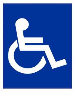 Wheelchair Symbol Magnet