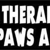 My Therapist Has 4 Paws and Fur Vinyl Sticker