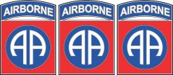 Eighty-Second Airborne Division Vinyl Stickers
