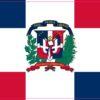 Dominican Republic Flag Vinyl Sticker