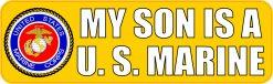 My Son Is a US Marine Vinyl Sticker