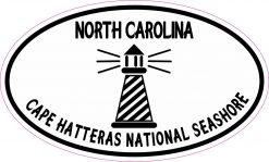 Oval Cape Hatteras National Seashore Vinyl Sticker