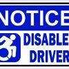 Dynamic Symbol Notice Disabled Driver Magnet