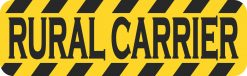 Rural Carrier Vinyl Sticker