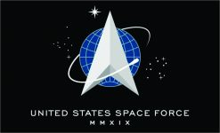 United States Space Force Flag Magnet