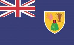 Turks and Caicos Islands Flag Vinyl Sticker